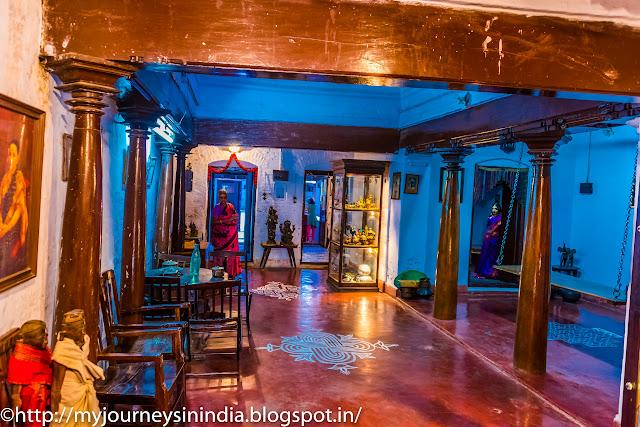 Kanchi Kudil Main Hall with Swing
