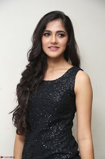 Simran Chowdary Model in Beautiful Black Dress at FBB Miss India 2017 finalists at Telangana auditions (41).JPG