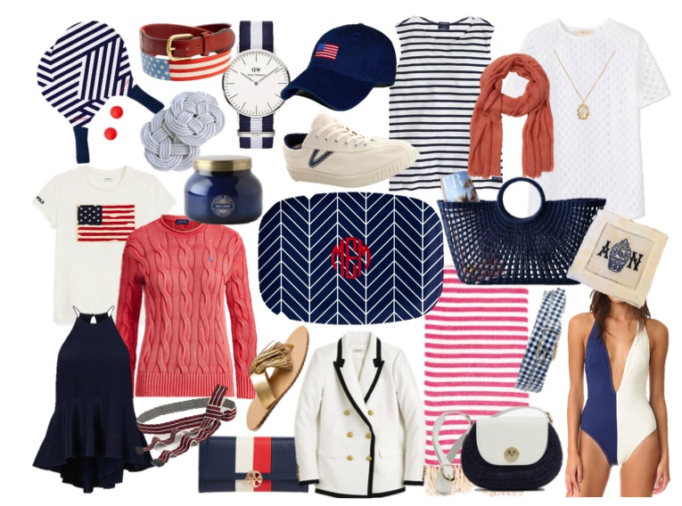 summer wind  saturday shopping  red  white  and blue  plus a sale roundup