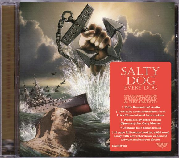 SALTY DOG - Every Dog Has Its Day [Rock Candy remaster +4] (2016) full