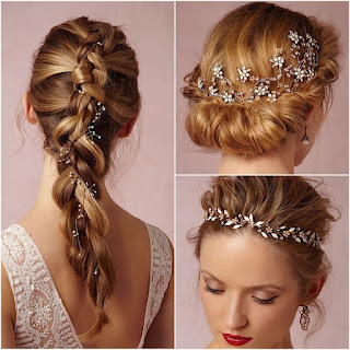 Hair Accessory over Matha Patti-bridal-hair-accessories-collage-Cuffs Designer Online Shopping Store India