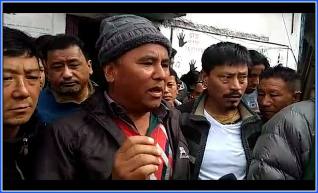 JB Tamang, President, Himalayan Plantation Workers' Union (HPWU- affiliated to the GNLF)