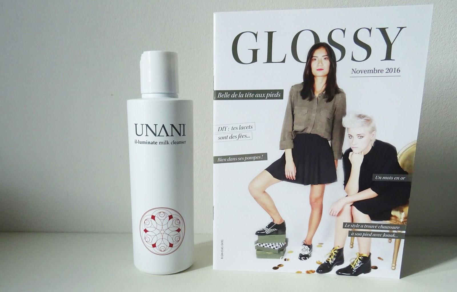 Glossybox Novembre 2016 : Belle de la tête aux pieds | Collaboration Jonak Unani