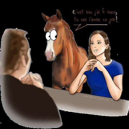 Le fer à cheval en porte-bonheur