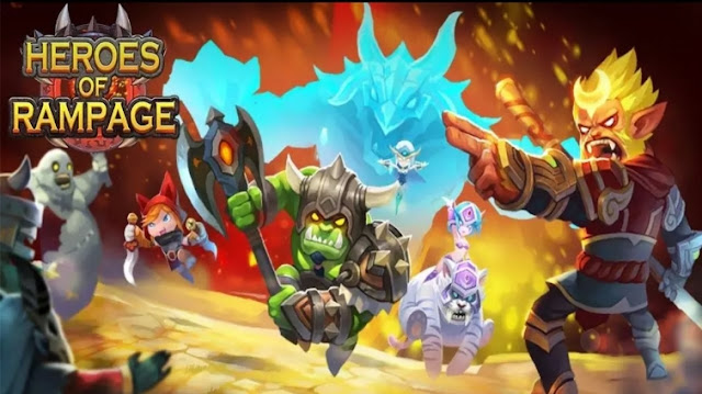 Download Heroes of Rampage v0.9.4 Mod Apk Data Terbaru (High Damage)