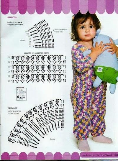 Pijama Mono para Bebes Patron
