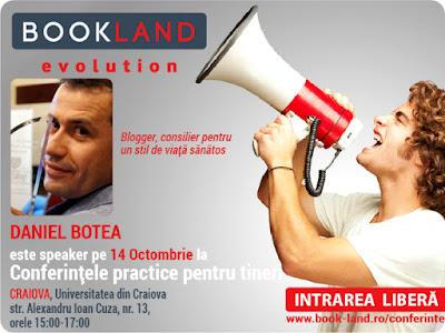 Daniel Botea la BookLand Evolution Craiova