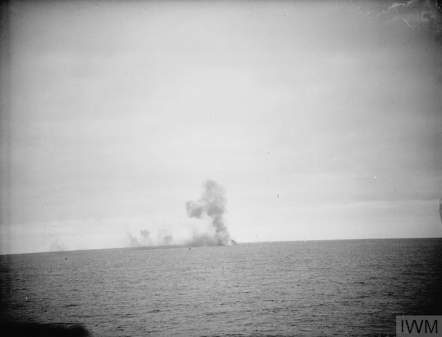 HMS Sheffield attacking tanker Friederich Breme 12 June 1941 worldwartwo.filminspector.com