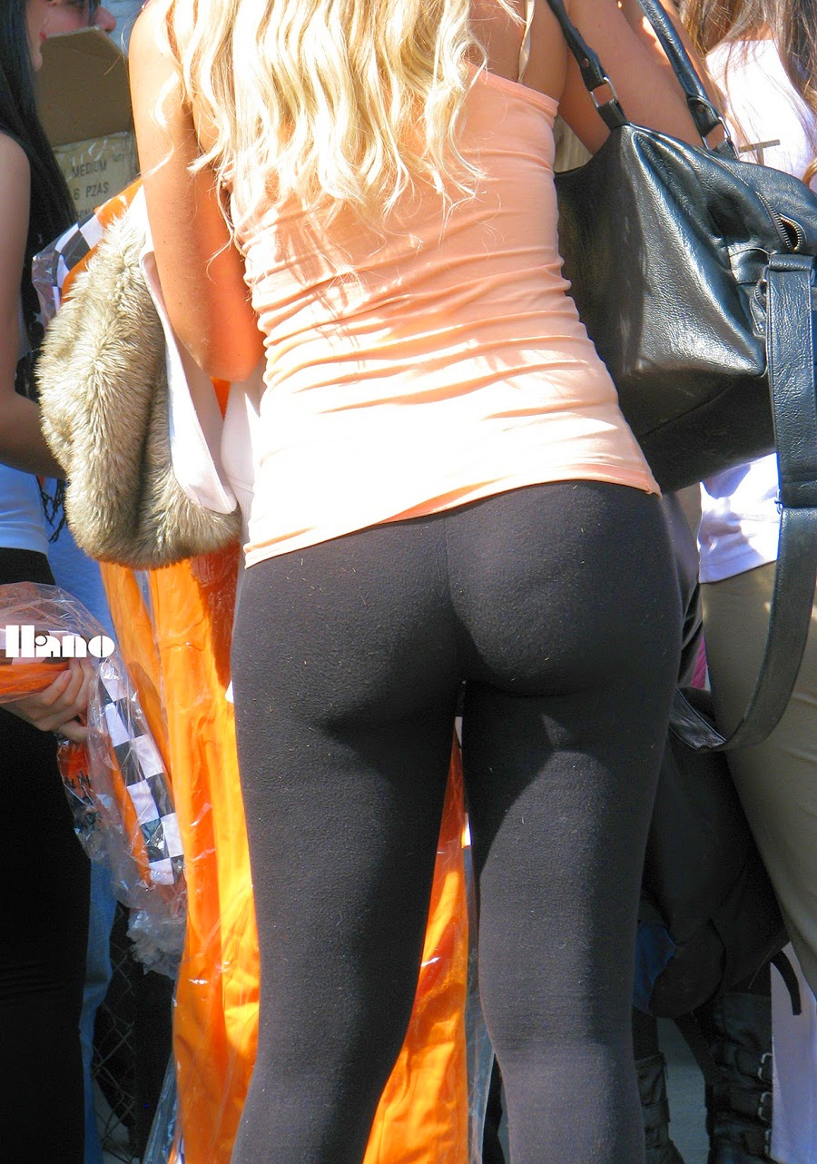 Candid Teen Leggings Yoga Pants-6251