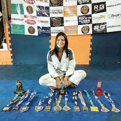 Conheça a história de Gabriela, atleta de Jiu-Jitsu de Cajati no Vale do Ribeira