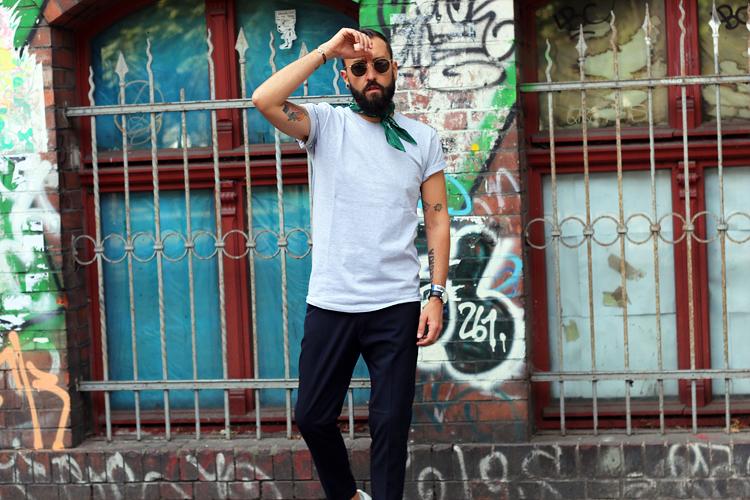 notanitboy, swiss, men, fashion, blog, bloger, berlin, breadandbutter, rayban, adidas, gazelle, bandana, style, streetstyle, streetart,