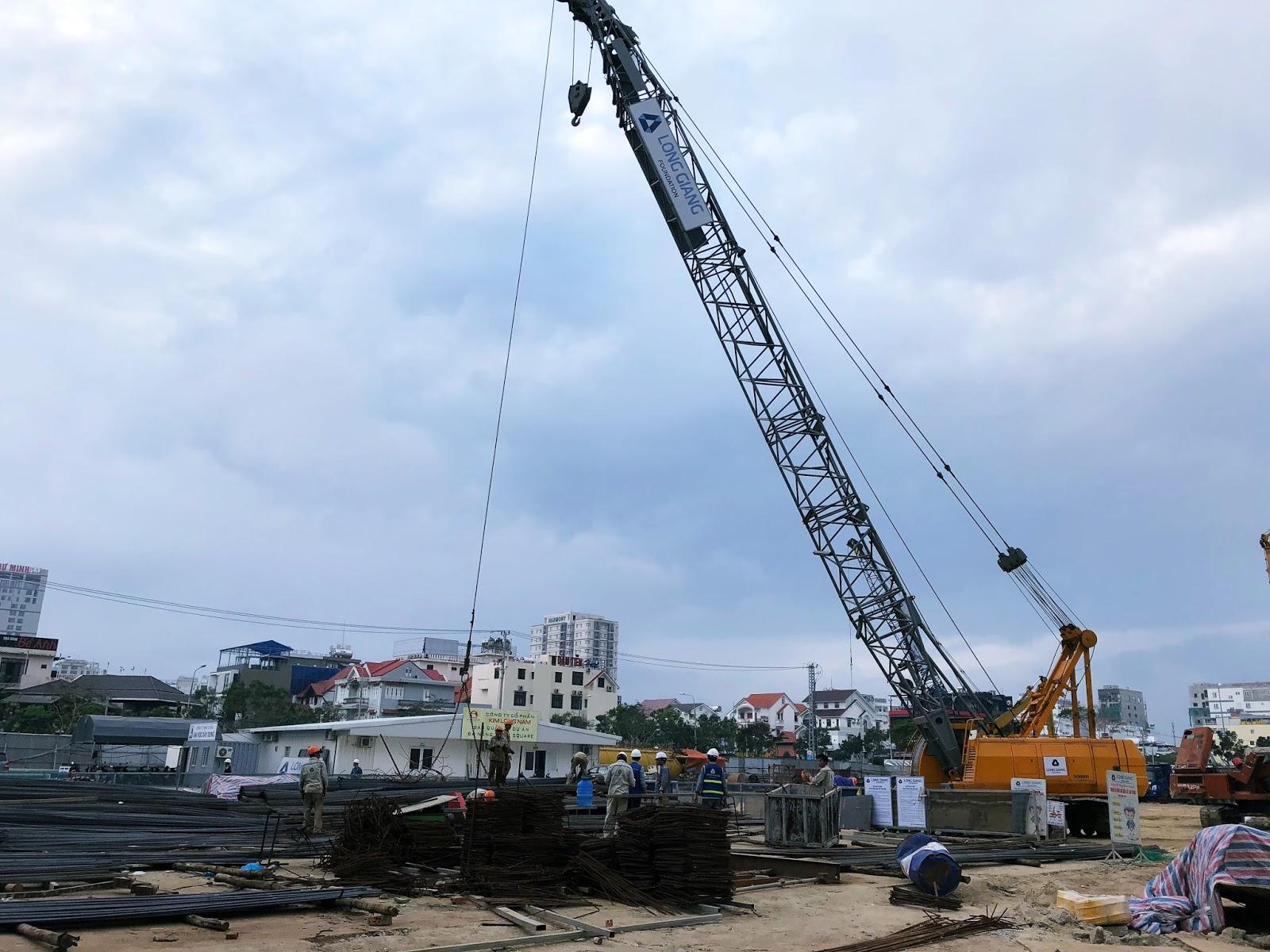 Tiến độ xây dựng dự án condotel Kim Long Season Mỹ Khê Đà Nẵng