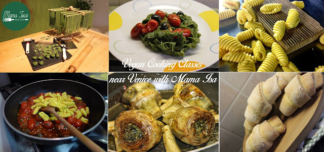 Vegan Cooking Lessons at Mama Isa's Cooking School in Italy Venice