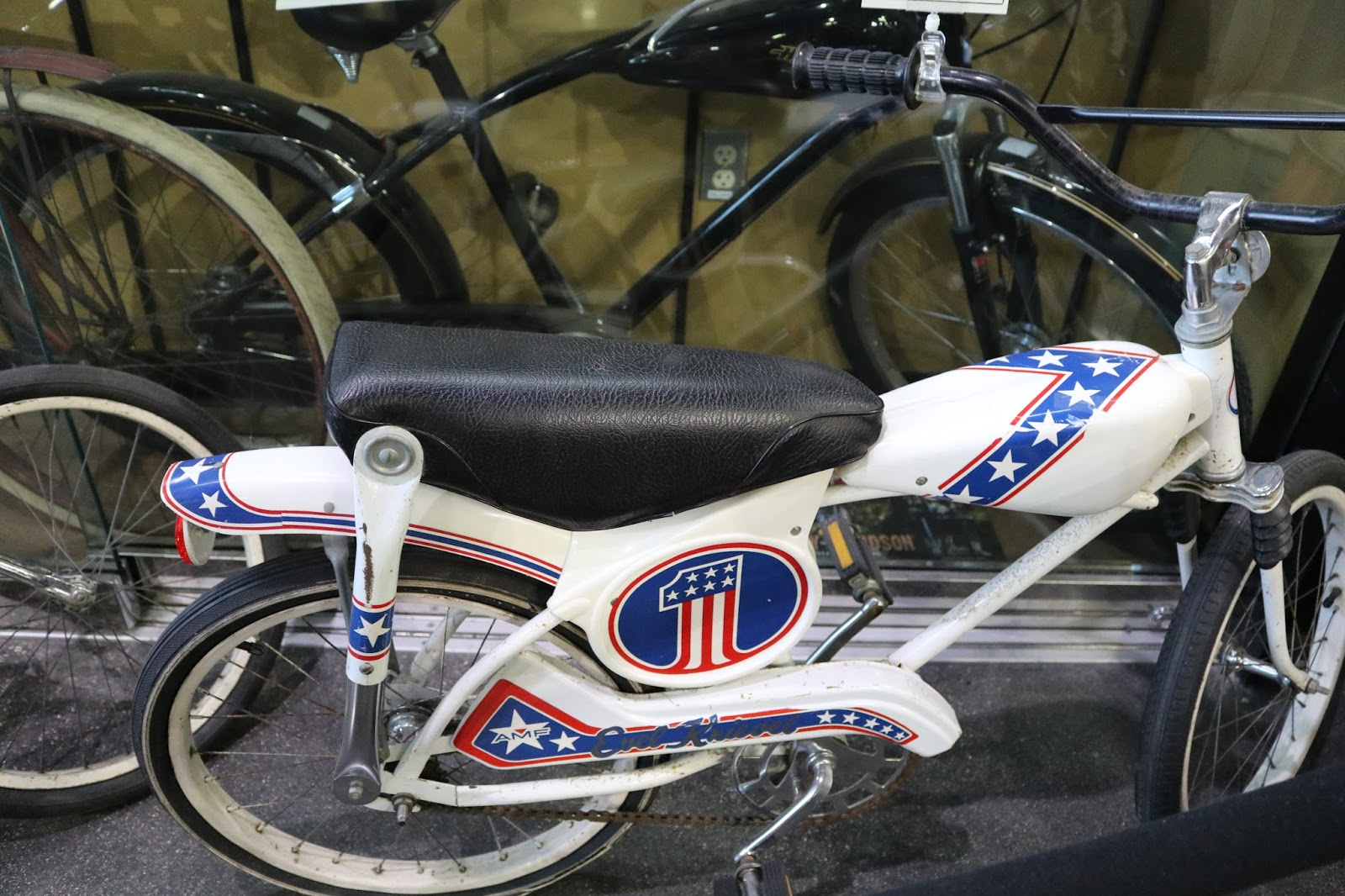 Famous Evel Knievel Bike At Auction: OldMotoDude: 1970's Evel Knievel Bicycle On Display At The