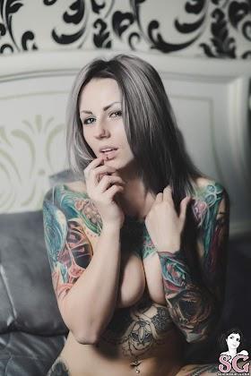 [SuicideGirls] Yannicka - Silver Vixen