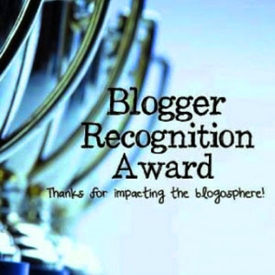 Blogger Recognition Award - for impacting the blogosphere