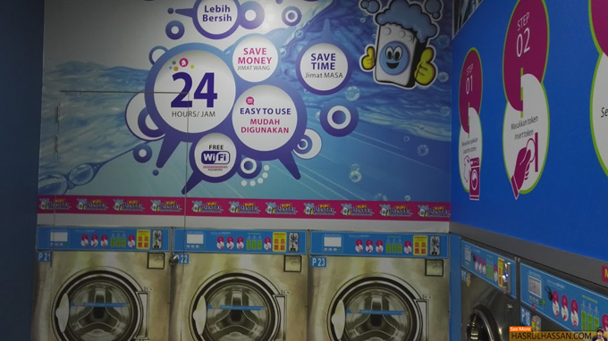 Tips Bila Guna Mesin Dryer Kedai Dobi Layan Diri