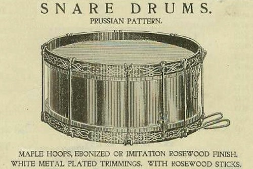 Prussian Drum Advertisement