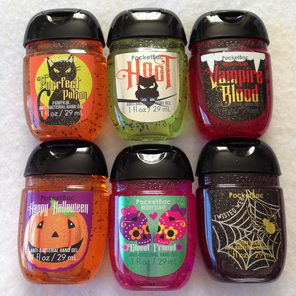 Life Inside The Page Bath Amp Body Works Halloween 2015