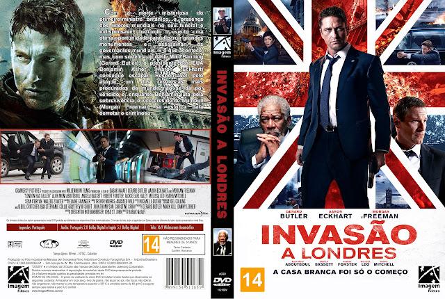 Capa DVD Invasão A Londres