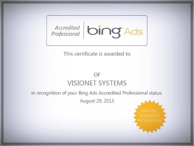 شهادة-إعلانات-بينج-Bing-Ads-Certification