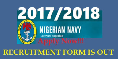 Nigerian Navy Form is Out | 2017 Online Recruitment (Download and Fill Forms)