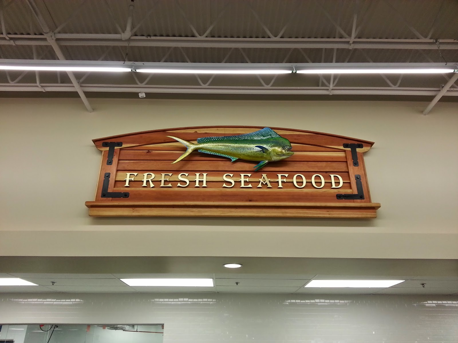Miramar Sign Works - Seafood Sign