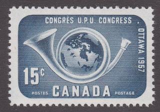 Canada UPU stamp