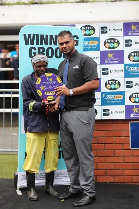 Grooms Initiative Winner - 29th December 2019 - Race 5 - Simphiwe Noholazi - SILVER PRANCER