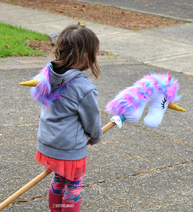easy stick unicorn hobby softie