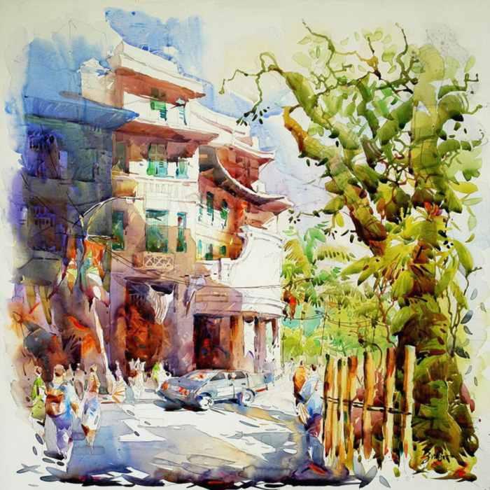 Светлый и лучезарный стиль. Jack Tia Kee Woon