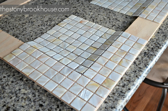 White Pearl Shell Tile