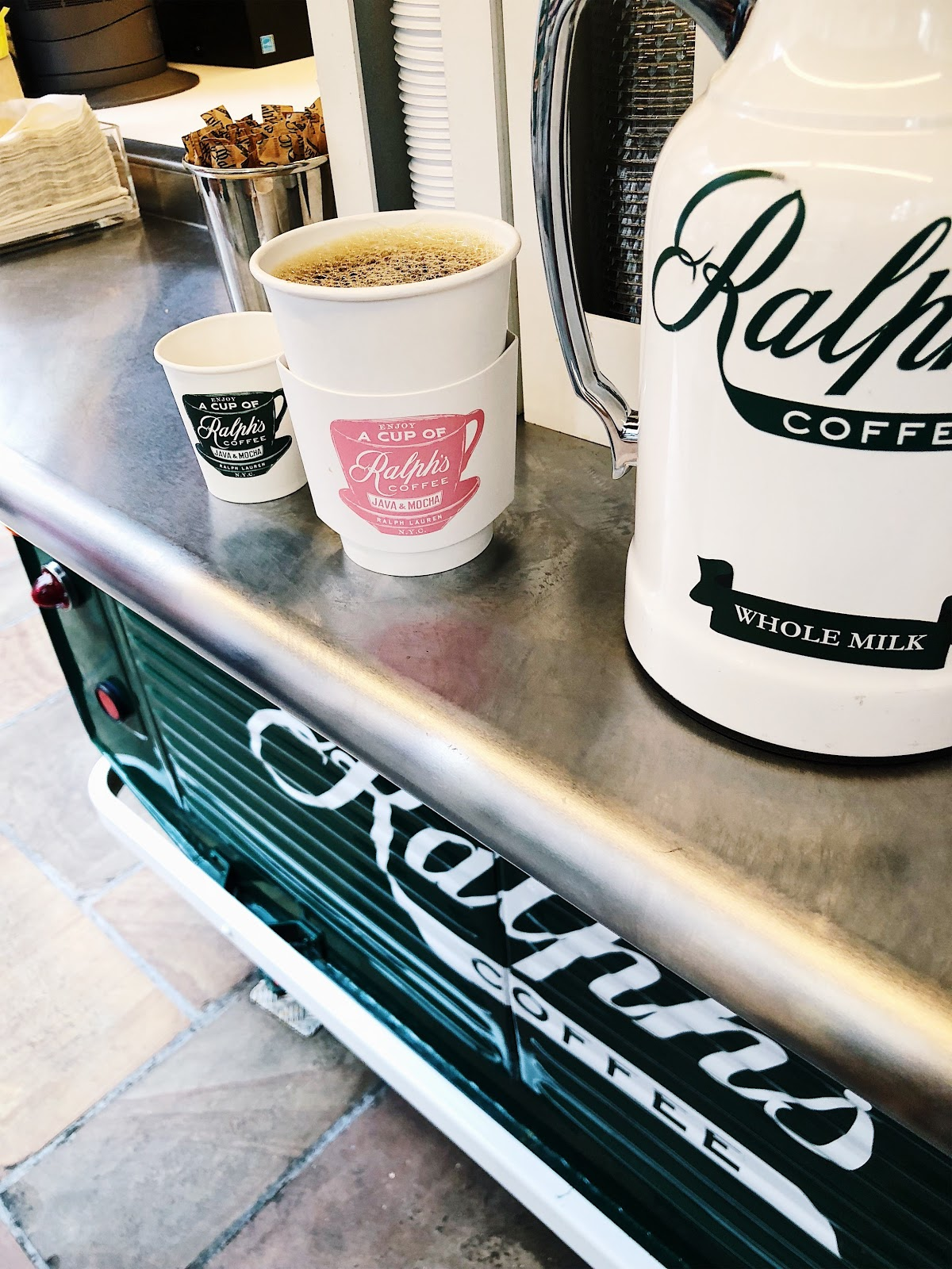 5 tips for travelling with a food lover- Ralphs' Coffee Truck in Rockefeller Centre- NYC travel eats fall 2018