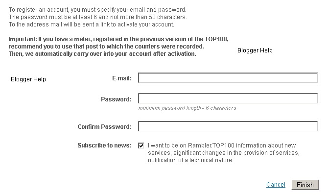 Submit your website/Blogger URL to Russian Search Engine
