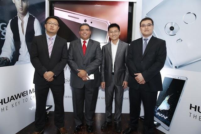 Huawei lanza su smartphone Mate 8 con batería de larga duración