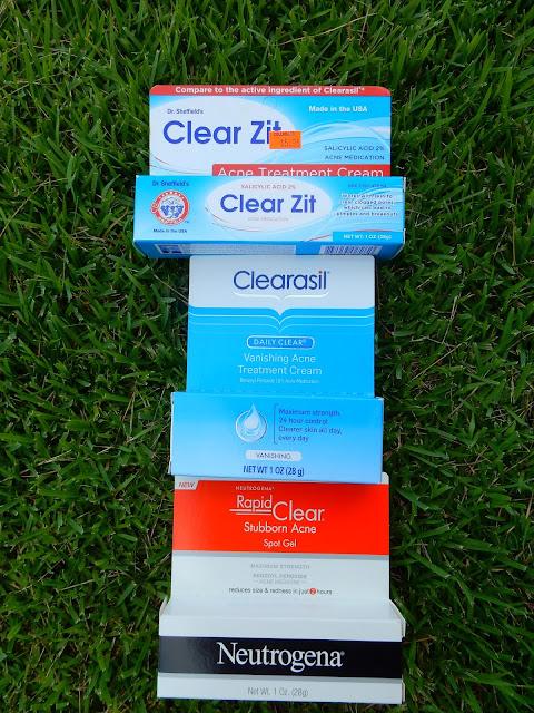 Drugstore acne creams - www.modenmakeup.com