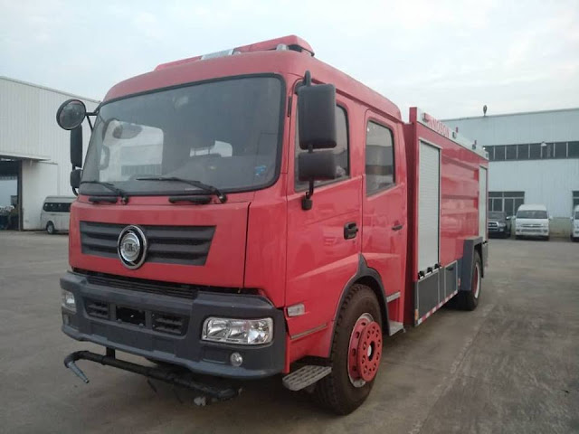 Nigerian Indigenous Motor Manufacturer, Innoson Unveils Its Fire Fighting Truck