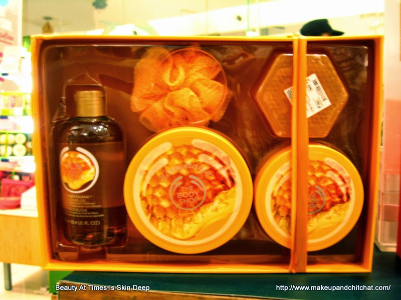 The Body Shop Store Honey Mania gift box