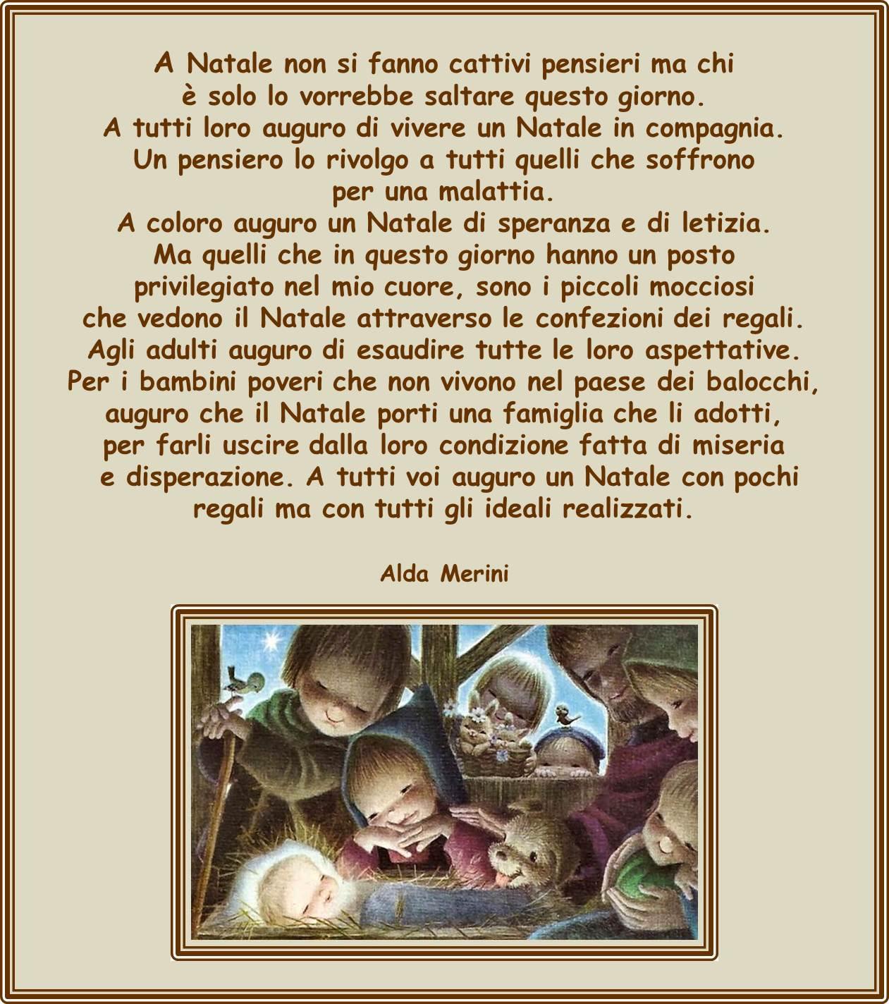 Poesie Di Natale Alda Merini.Poesia Buon Natale Alda Merini Frismarketingadvies