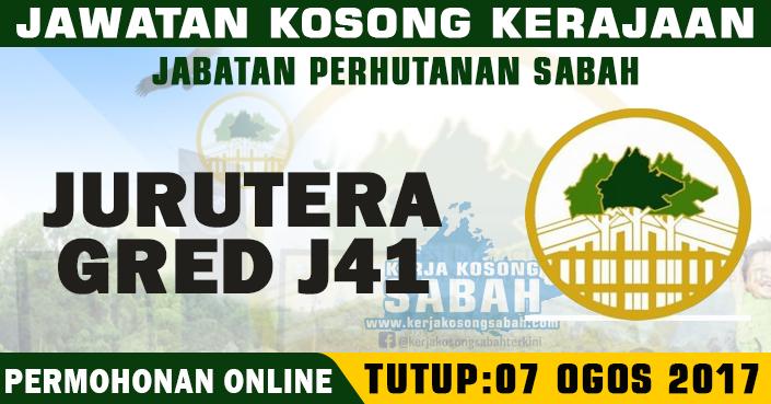 Jawatan Kosong Jabatan Perhutanan Negeri Sabah Jurutera J41 Jawatan Kosong Terkini Negeri Sabah