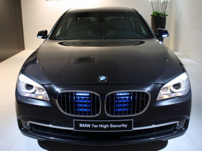 BMW 760i High Security