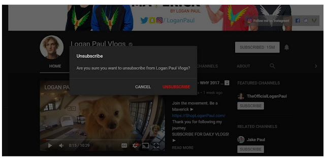 Cara unsubscribe dari Channel YouTube untuk berhenti berlangganan dari saluran