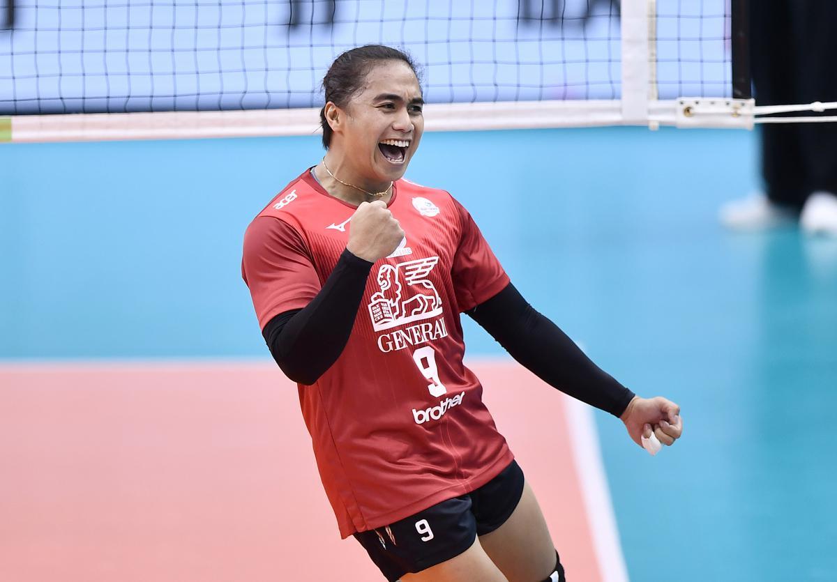 Aprilia Manganang Supreme Chonburi Thailand Profil Atlet
