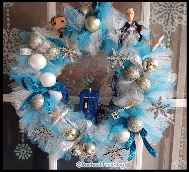 Dr Who Christmas Wreath