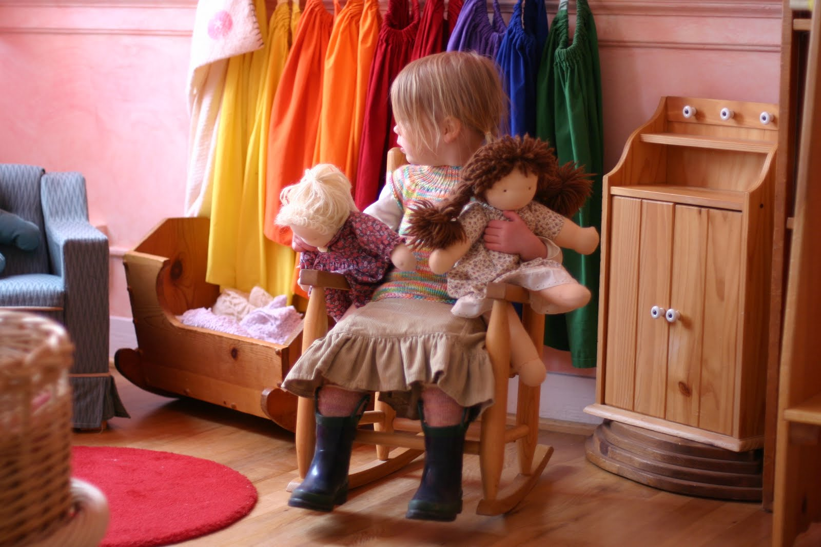 Kindergarten Class: Frontier Dreams: Out And About : K's Waldorf Kindergarten