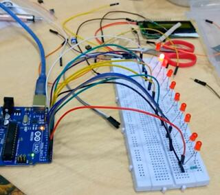 LED Pattern with Arduino tutorial- 3 Pattern With 10 LED