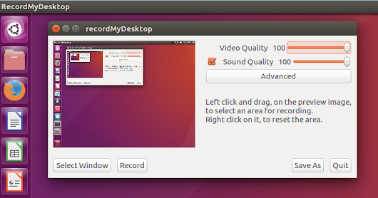 6 Best Screen Recorder/Capture Software For Ubuntu 16.04/16.10