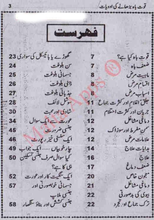 quwwat-e-mardana-barhanay-ki-adawiyat