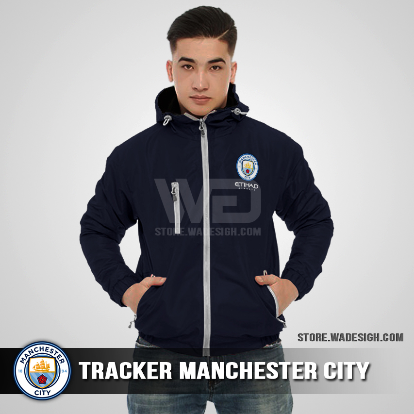 Jaket Tracker Waterproof Manchester City