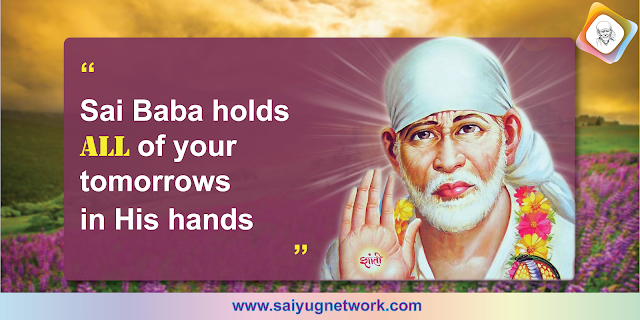 Hold My Daughter - Anonymous Sai Devotee